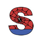 SPIDERMAN name plaques and wall art