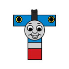THOMAS THE TANK ENGINE name plaques and wall art