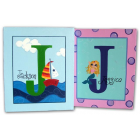 artwork / name plaques for kids wall art Name Canvas Handpainted