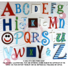 alphabet letters and wooden wall letters - full alphabet sets A to Z