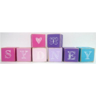 wooden blocks - personalised