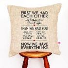 cushions and pillowcases for wedding gifts