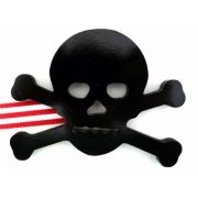 Artwork Hanger Set to display and organise your childs pictures - Pirate Crossbones - Black