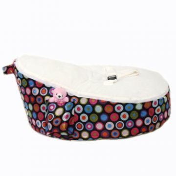 Bean Bag for Newborns / Baby - Bubble White