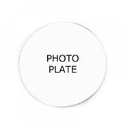 Personalised Backing Plate for Floating Memory Locket - Photo Plate