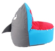 .Bean Bag for Kids - Finn the Shark