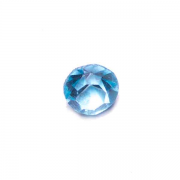 Birthstone Round Charm for Floating Memory Locket  03 - March