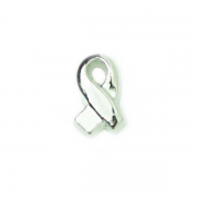 Charities Charm for Floating Memory Locket - Silver Ribbon