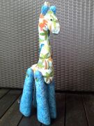 Softie Toy - Medium Giraffe for Boys - 48 cms
