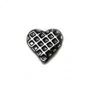 Love Charm for Floating Memory Locket - Criss Cross Heart