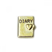 Faith Charm for Floating Memory Locket - Diary