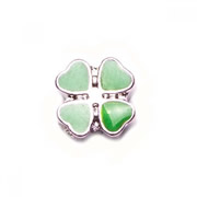 Fortune/Luck Charm for Floating Memory Locket - Four Leaf Clover