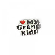 Family Charm for Floating Memory Locket - Love My Grandkids
