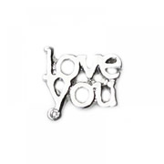 Love Charm for Floating Memory Locket - Love You