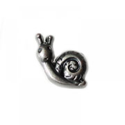 Animal Charm for Floating Memory Locket - Snail