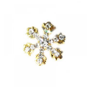Christmas Charm for Floating Memory Locket - Sparkle Snowflake