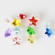 Star Charm for Floating Memory Locket - Star Charms