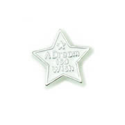 Messages Charm for Floating Memory Locket - A Dream is a Wish - Star