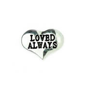 Love Charm for Floating Memory Locket - Always Loved Heart