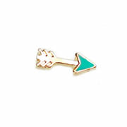 Love Charm for Floating Memory Locket - Arrow rose gold