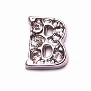 Letters Charm for Floating Memory Locket - B