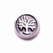 Family Charm for Floating Memory Locket - Black Tree of Life