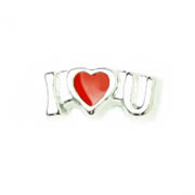 Love Charm for Floating Memory Locket - I Love You