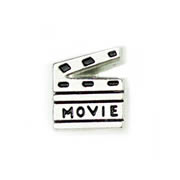 Hobbies Charm for Floating Memory Locket - Movie Time