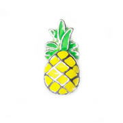 Food Charm for Floating Memory Locket - Pineapple
