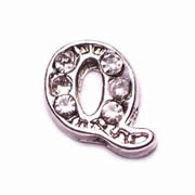Letters Charm for Floating Memory Locket - Q