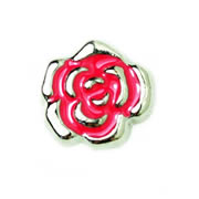 Love Charm for Floating Memory Locket - Rose