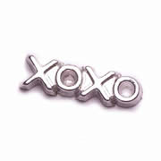 Love Charm for Floating Memory Locket - xoxo