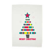 Personalised Christmas Tea Towel - Christmas Tree