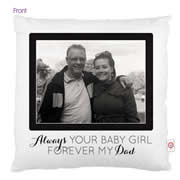 Personalised Cushion Cover for Fathers Day - Photo Cushion 2