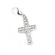 Diamante Cross Dangle for Floating Memory Locket