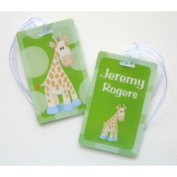 Spotty Giraffe - Bag Tag