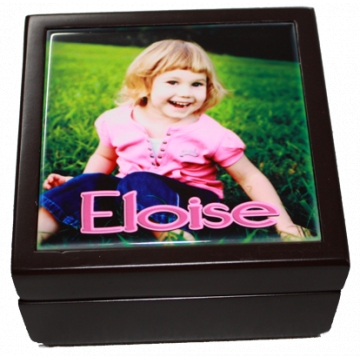 Jewellery Box - Small<br>Personalised with Photo