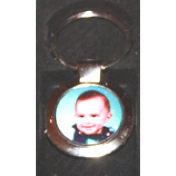 Keyring<br>Personalised with Photo<br>Circle