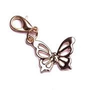 Gold Butterfly Dangle for Floating Memory Locket