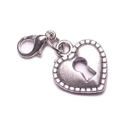 Heart Locket Dangle for Floating Memory Locket