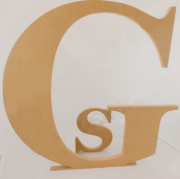 .TALL HUGE FREESTANDING Wooden Letter UNPAINTED - 60 cm tall