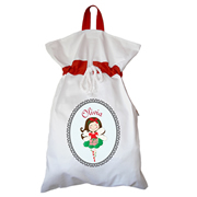 Santa Sack - Personalised Christmas Fairy