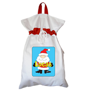 Santa Sack - Personalised Santa Boy