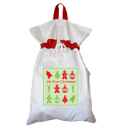 Santa Sack - Personalised First Christmas Generic
