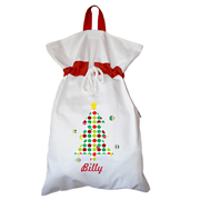 Santa Sack - Personalised Christmas Tree