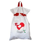 Santa Sack - Personalised A Birdy Christmas