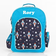 .Backpack for Kids Personalised - Essentials Backpack Rocket