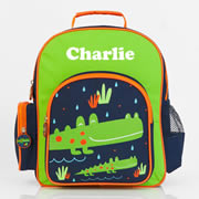 .Backpack for Kids Personalised - Pre School Backpack Crocodile