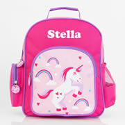 .Backpack for Kids Personalised - Pre School Backpack Unicorn