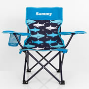 Kids Camp Chair Personalised - Shark